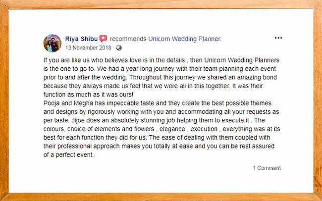 wedding planners in kerala
